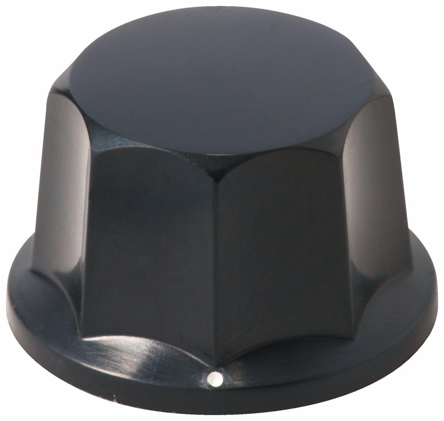 Framus Vintage Parts - Potentiometer Knob Set - Black with White Marker, 2 pcs.