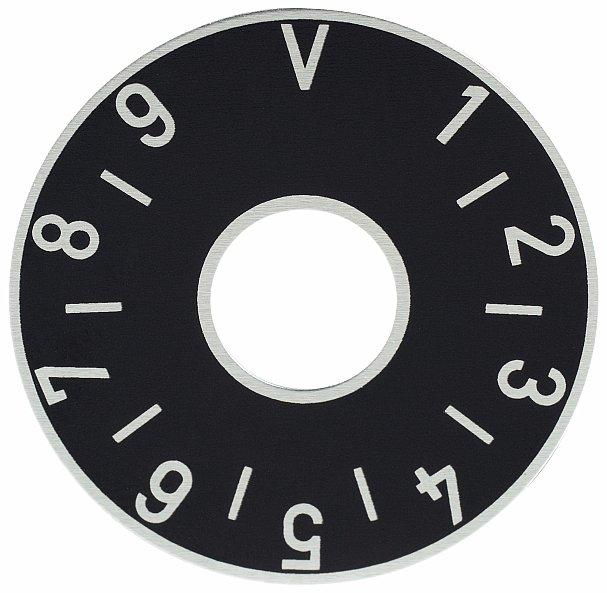Framus Vintage Parts - Volume Plate, Black