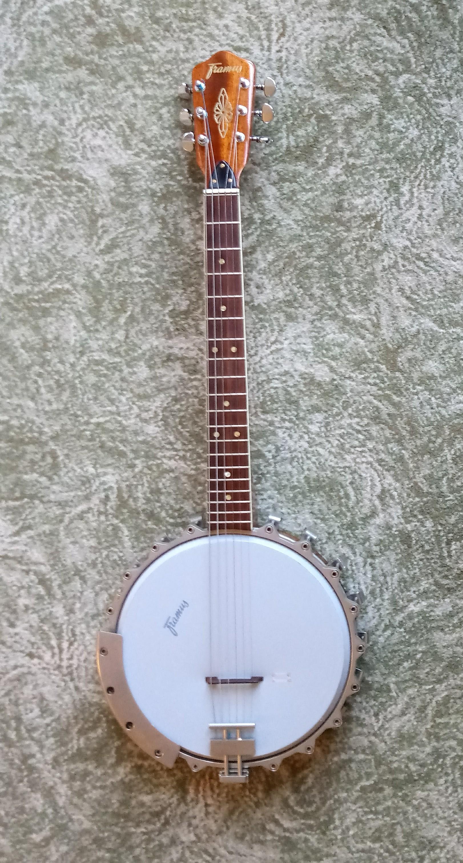 Banjo-guitar 1965
