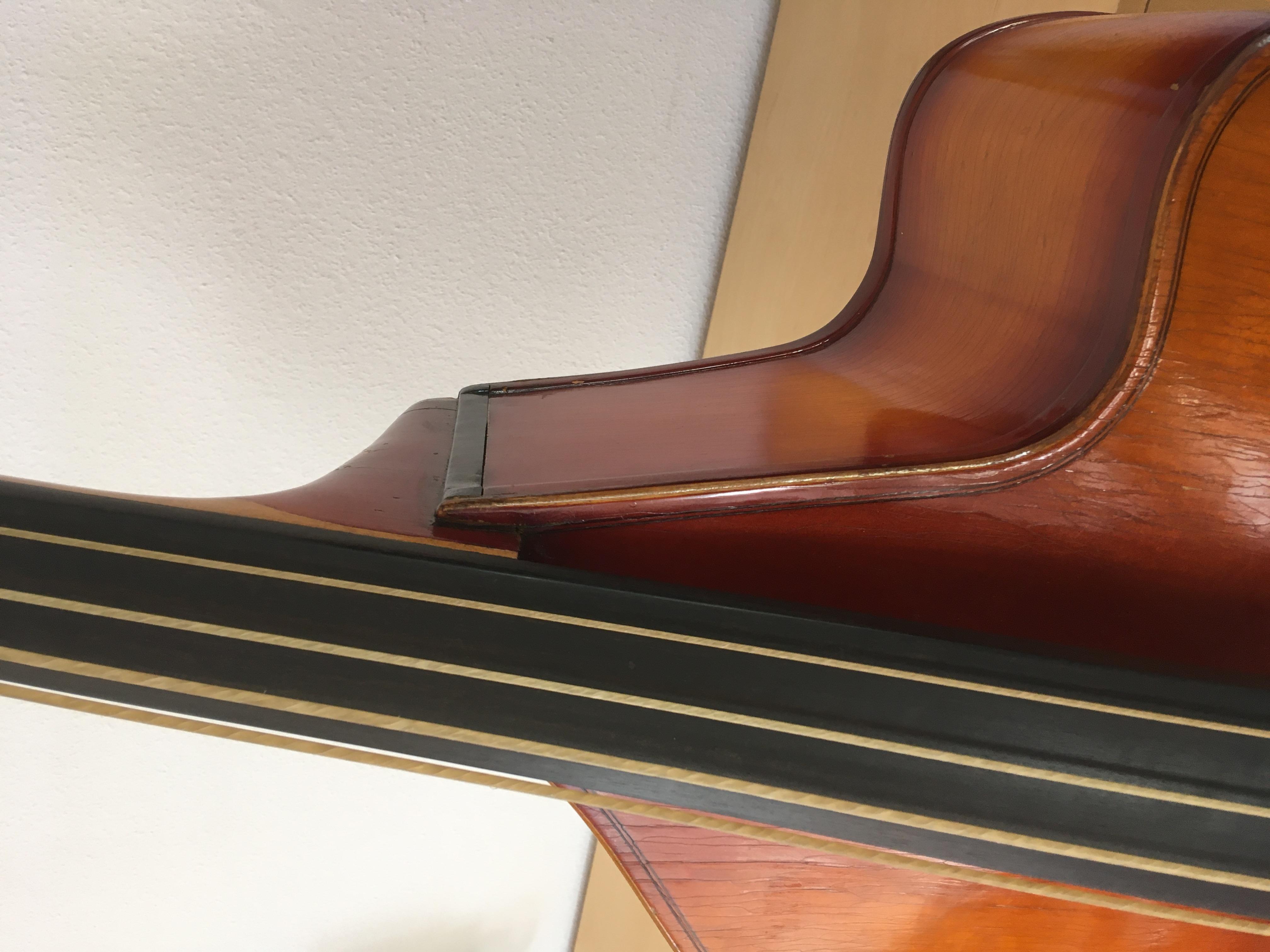 Kontrabass 3/4 Cutaway (1955 Schätzung)