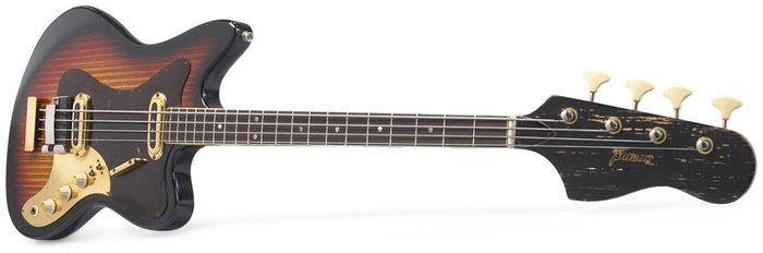 Framus Vintage - 5/165-52gl Strato de Luxe Star Bass
