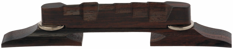 Framus Vintage Parts - Compensated Archtop Bridge, Rosewood, 6-String