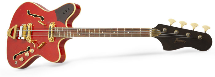 Framus Vintage - 5/152.1 Golden TV Star Bass