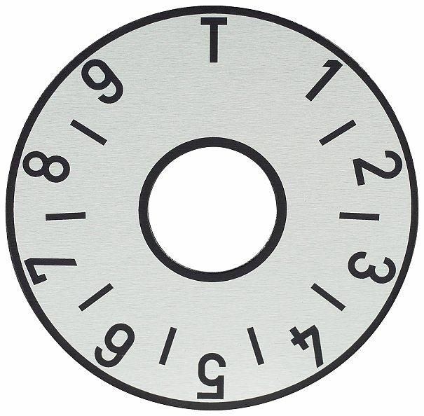 Framus Vintage Parts - Tone Plate, Silver