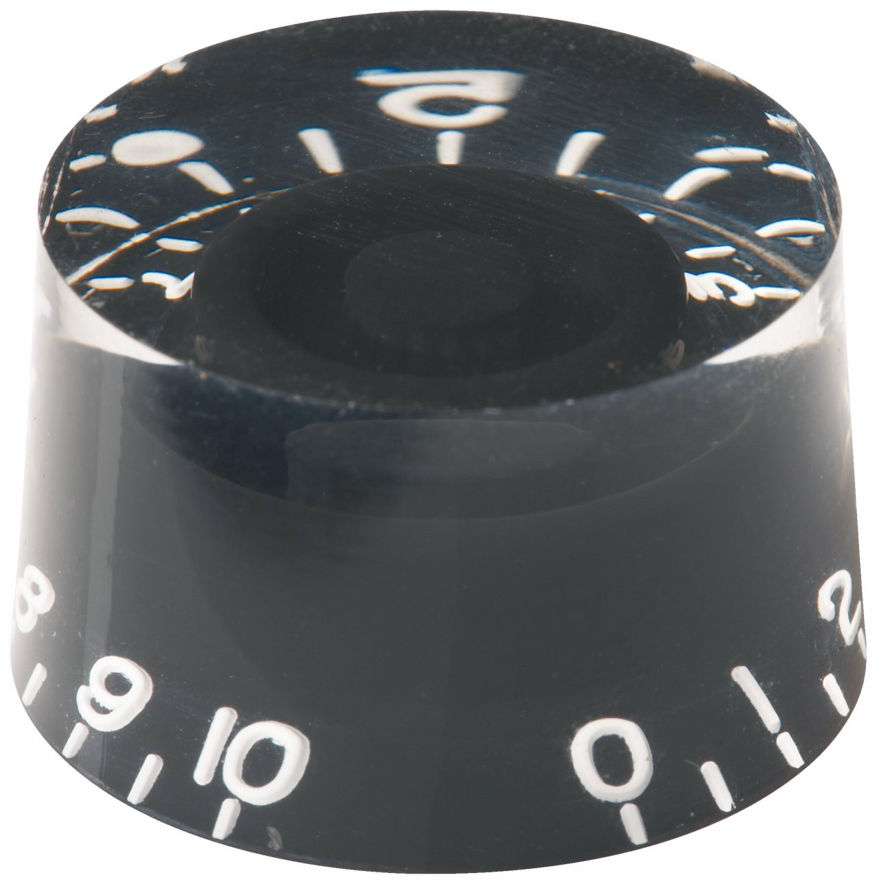 Framus Vintage Parts - Potentiometer Knob Set for Jan Akkerman & Nashville Models - Black, 2 pcs.