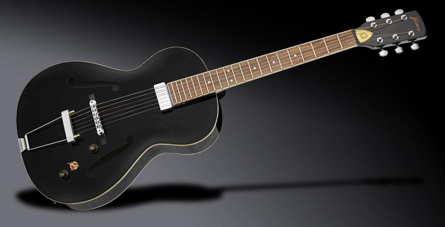 Framus Vintage Series 5/51 Studio - Solid Black High Polish