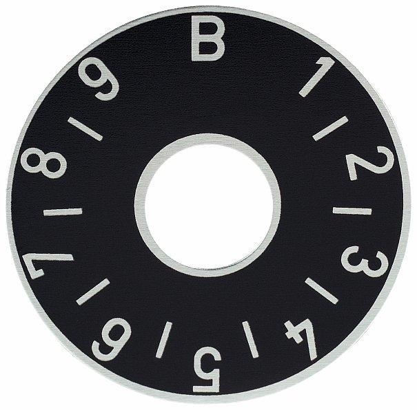 Framus Vintage Parts - Balance Plate, Black