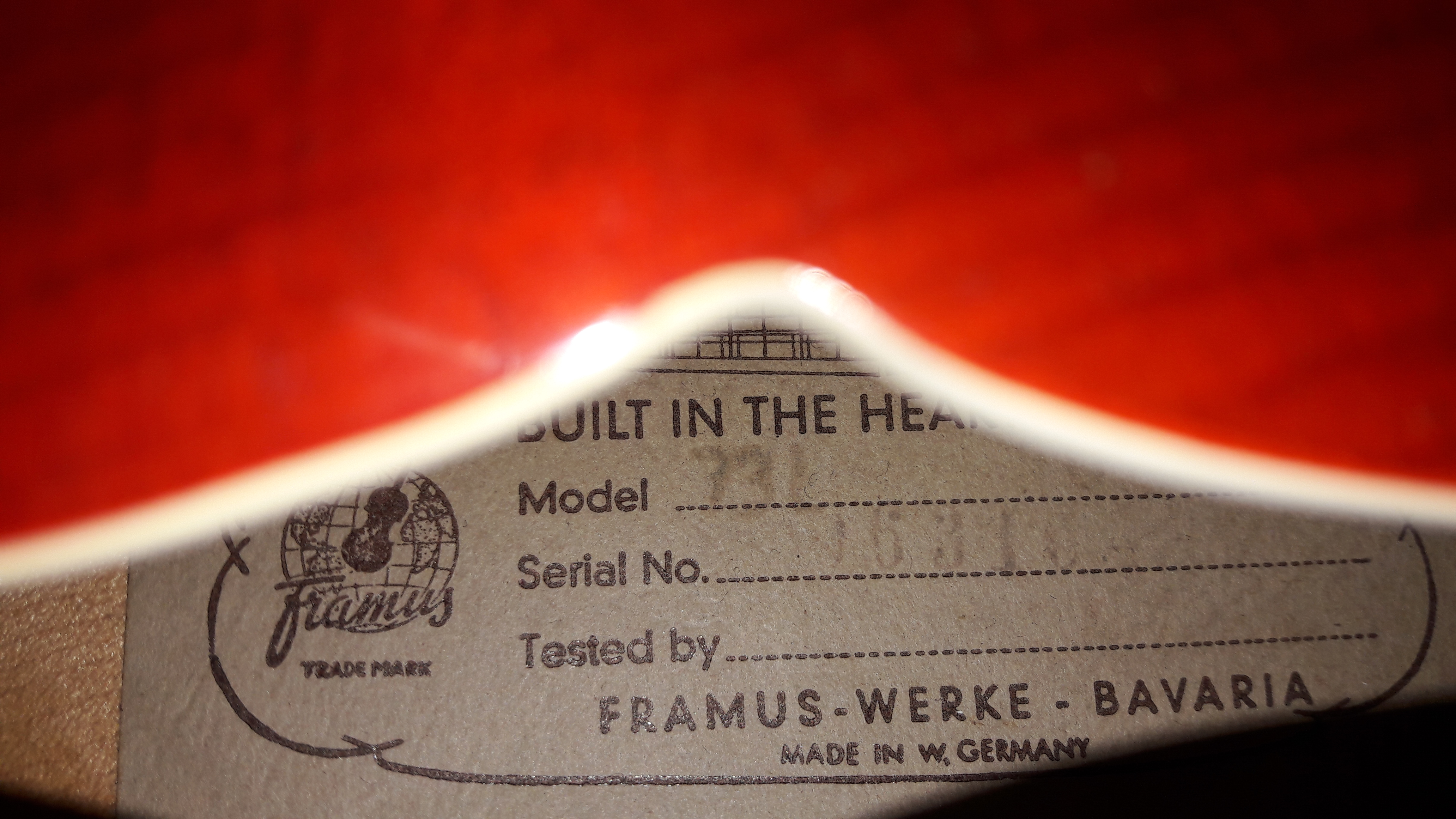 Framus 7301
