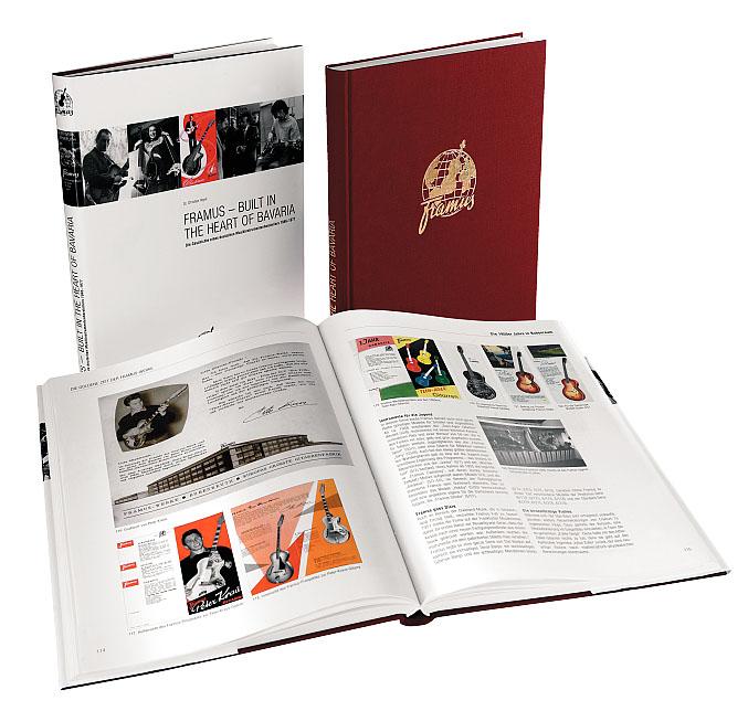 Framus Promo - Built In The Heart Of Bavaria (Buch) - Deutsch