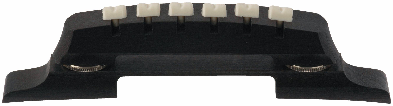 Framus Vintage Parts - Adjustable Archtop Bridge, Pear, 6-String