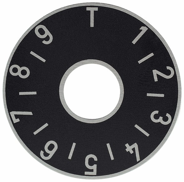 Framus Vintage Parts - Tone Plate, Black