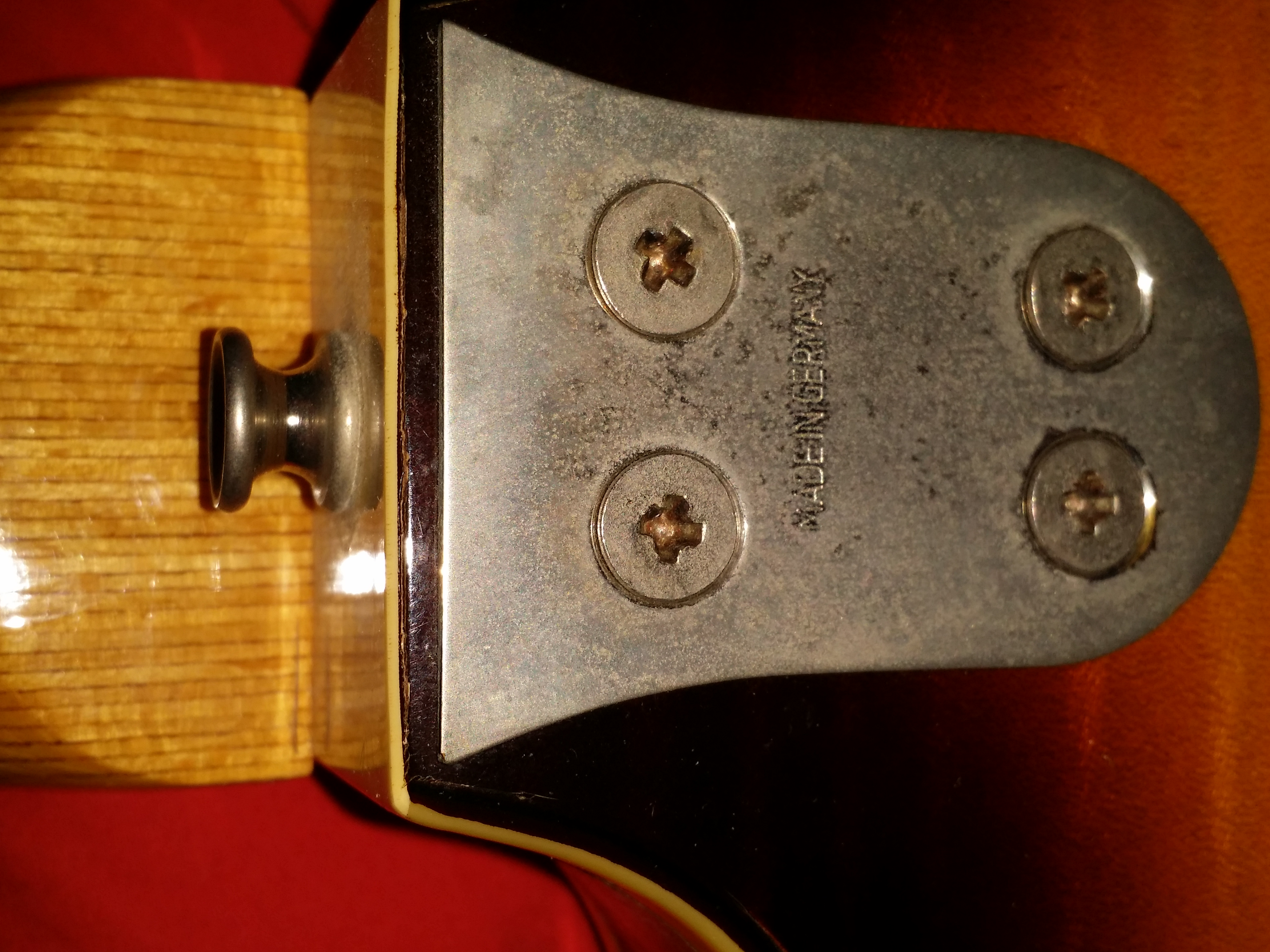 VOX 12 string Thin Line hollow body made by Framus. Late '60s