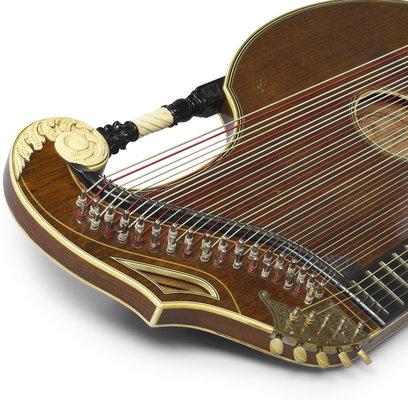 Framus Vintage - 7/30 Harfen-Luftresonanz-Zither