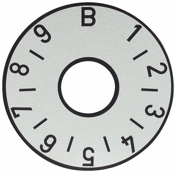 Framus Vintage Parts - Balance Plate, Silver